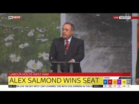 Alex Salmond Wins Seat In Gordon