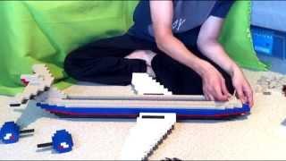 Building Big Lego Airliner