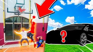Last Person To Miss A Layup, Wins A Car!