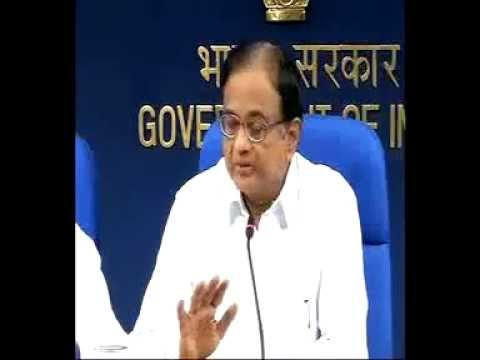 Union Finance Minister P. Chidambaram briefing the media on Sri Lankan issue-Part4