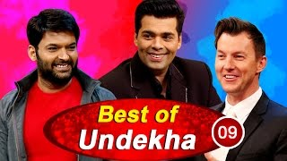 Karan Johar and Brett Lee in Best of Undekha   The Kapil Sharma Show   Sony LIV   HD