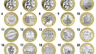 Rarest and Most Valuable £2 Coins in Circulation. How much is your £2 worth?