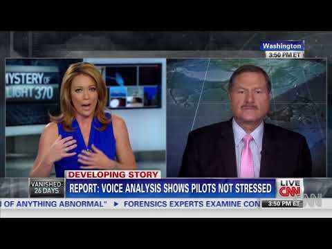 Cockpit radio transcripts from Flight 370 released.