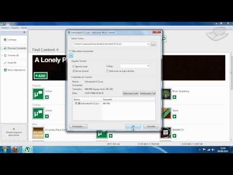 Dicas - Como usar o uTorrent - Baixaki