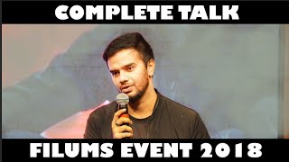 Complete Talk of Junejo , Mooroo & Eva at FiLUMS Event