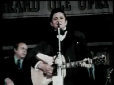 Johnny Cash - Folsom Prison Blues - 1968 Music Videos