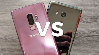 HTC U11+ versus Samsung Galaxy S9+ camera comparison