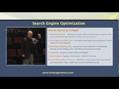 Introduction to Internet Marketing Strategies presented by Lou Amico