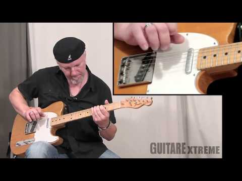 Fred Chapellier Blues Guitar Lesson - Guitare Xtreme Magazine #54