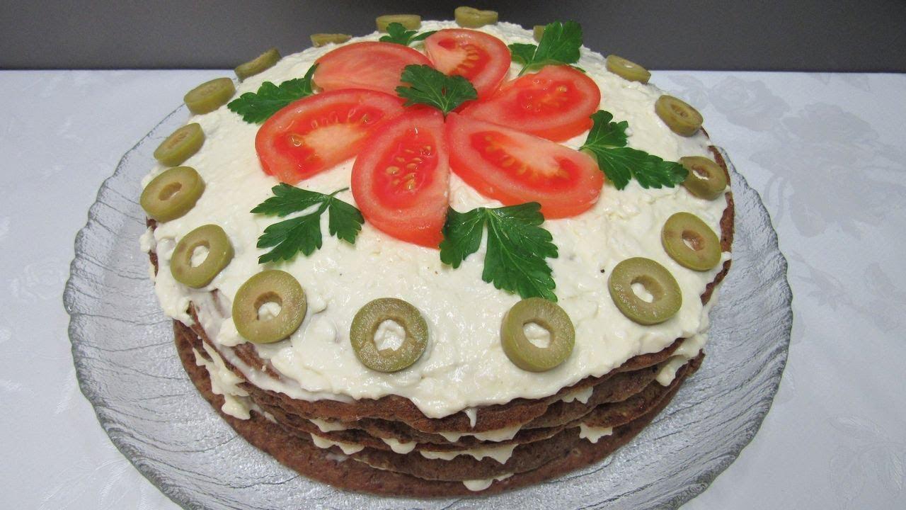 Рецепты самого вкусного печеночного торта