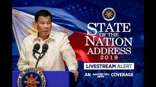State Of The Nation Address 2019 | ABS-CBN News Coverage
