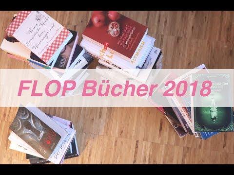 FLOP Bücher 2018 I 10 Bücher, die mich nicht überzeugen konnten I Kali's Books