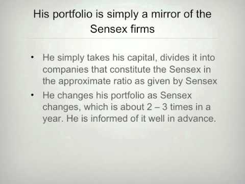 Generating returns from the Indian stock market