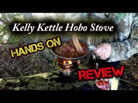 Hands on Review - Kelly Kettle Hobo Stove 4K