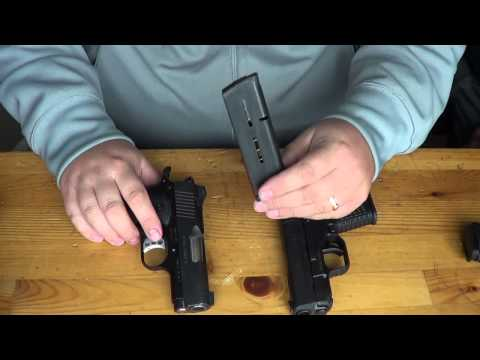 Springfield XDS vs Kimber Ultra Carry II: Size & Feature Comparison