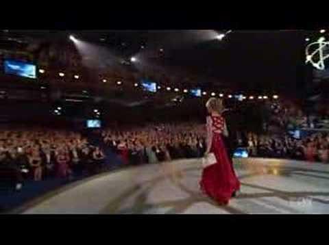 Kathryn Morris 59th Emmy Awards ( www.kathrynmorris.net )