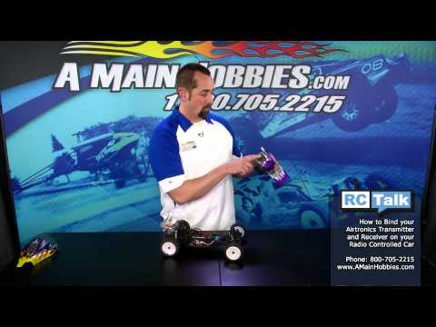 How To Bind An Airtronics 2.4Ghz Radio System: A Main Hobbies RC Talk