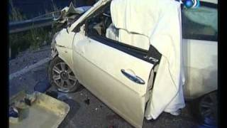Casteltermini, incidente mortale sulla S S 189  AGTV 20 01 2011