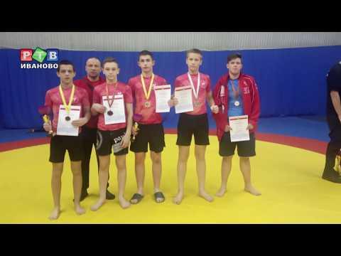 Шесть медалей у ивановского панкратиона