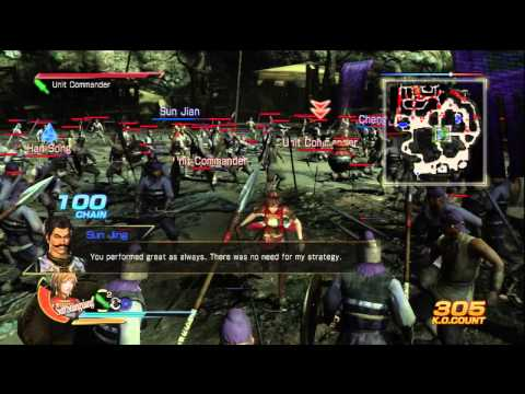 Dynasty Warriors 8, Battle of Xiangyang (Wu story mode)