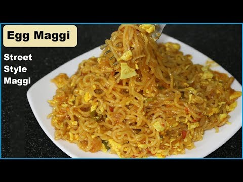 Street Style Egg Maggi Masala | Egg Maggi Recipe | Cookingwithreshu