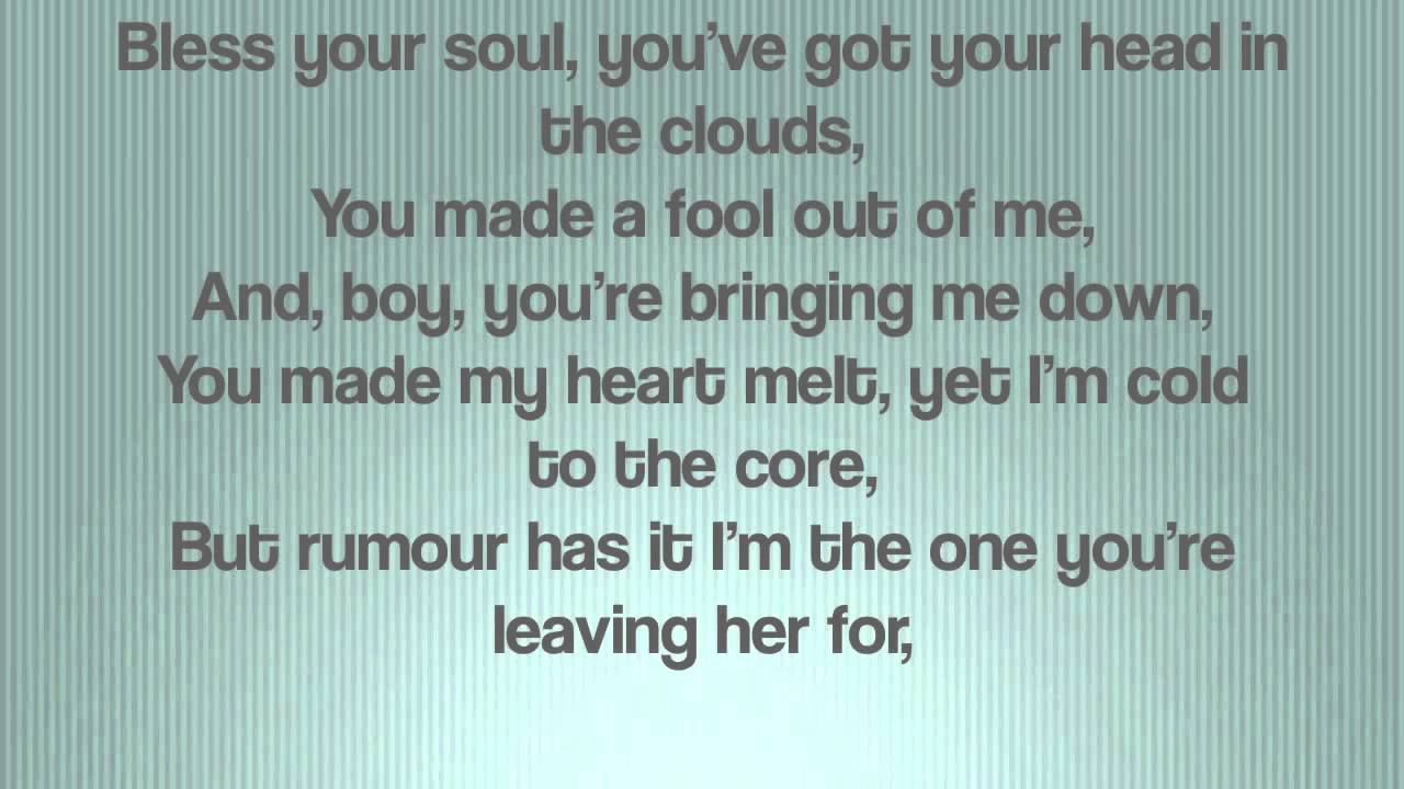rumor has it by adele (lyrics) - YouTube