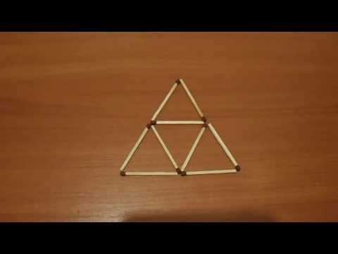 Пирамида из спичек своими руками 24