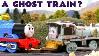 Thomas and Friends Ghost Train - Toy Trains story for kids and children with Trackmaster Lexi TT4U