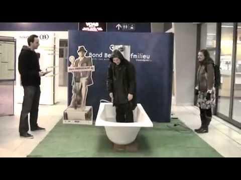 De energiejacht - Hoe lang kan je douchen met het water van één bad