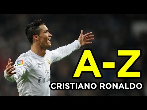 An A-Z Of Cristiano Ronaldo