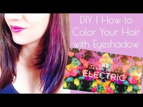 For highlights dyeityourself hair color real simple of color your use eye shadow to color your hair how to save money and do it yourself solutioingenieria Gallery