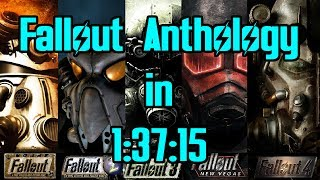 Fallout Anthology Speedrun in 1:37:15
