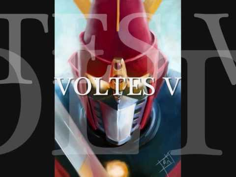 Voltes V - Theme Tune - Hq - Lyrics video