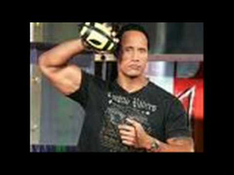 Wwe - The Rock Entrance Music video