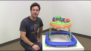 Safety 1st Sounds 'n Lights Discovery Dino Baby Walker Review by zSeek
