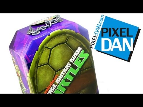 Nickelodeon Teenage Mutant Ninja Turtles Action Figure Carry Case Video Review