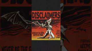 DISCLAIMERS - NEVER BE THE SAME (demo 2018)