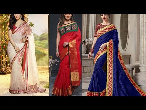 Latest Designer Raw Silk Saree Collections With Price - She Fashion
