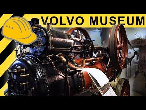 Besuch im Volvo Baumaschinen Museum - Historische Technik im Munktell Museum