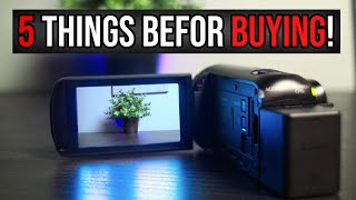 5 THINGS YOU NEED TO KNOW Before Buying Canon Legria HF R806 / Vixia HF R800 | Average Filmmaker