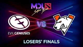 Evil Geniuses vs Virtus.pro Game 1 - MDL Macau 2019: Losers' Finals