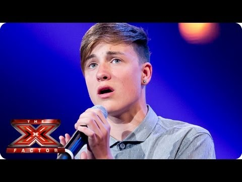 Giles Potter Sings I Wont Give Up By Jason Mraz -- Bootcamp Auditions -- The X Factor 2013 video