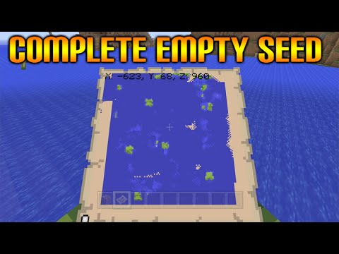 ★Minecraft Xbox 360 + PS3 New Survival Island Seed - The Most Empty Minecraft Seed EVER!★