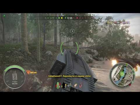 World of Tanks Xbox one  Mark I 5 Kills and a draw