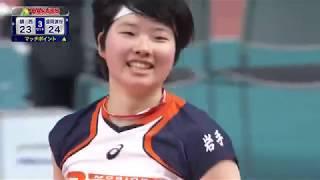 きょうの名勝負・1月7日(月) 女子3回戦 盛岡誠桜(岩手)vs鎮西(熊本)