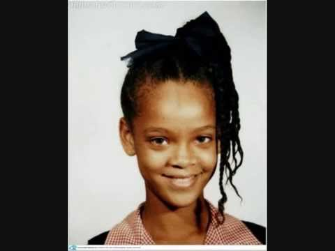 Pictures Of Rihanna When She Was A Kid