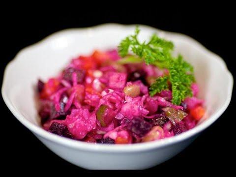 Правильный рецепт винегрета салата