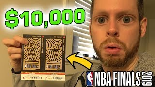 I paid $10,000 to go to the NBA Finals