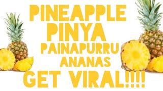 Bakit trending ang Pinya sa twitter? Pinya Girl Scandal??? Viral Pineapple! Health Risk and Benefits