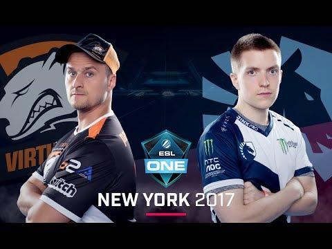 CS:GO - Virtus.pro vs. Team Liquid [Inferno] Map 1 - Group B Elimination - ESL One New York 2017